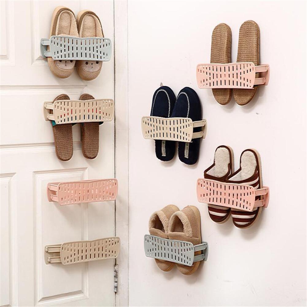 Wall Mounted Shoe Storage Rack Shoes