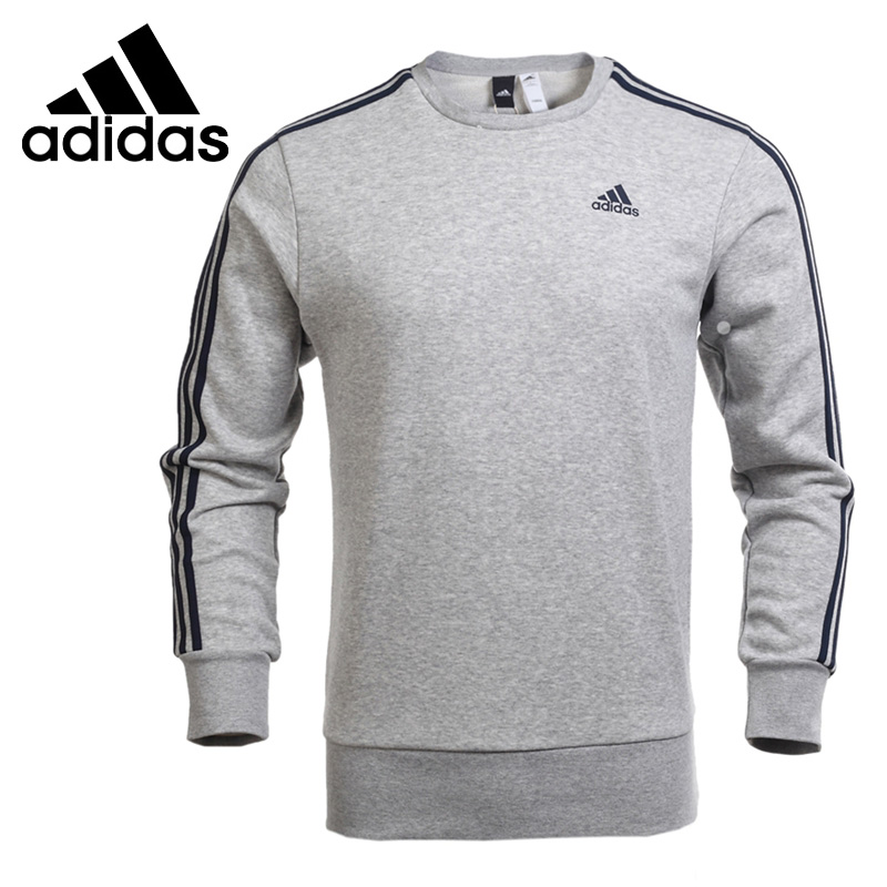 Original New Arrival 2018 Adidas Performance ESS 3S CREW FT Men's Pullover Jerseys Sportswear adidas new arrival official ess 3s crew men s jacket breathable pullover sportswear bq9645