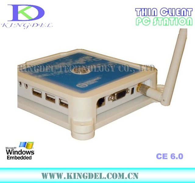 Thin Client Computer, PC Share Terminal with 800Mhz, 32 Bit, WIFI, Microphone, Touchscreen, WIN7/VISTA supported