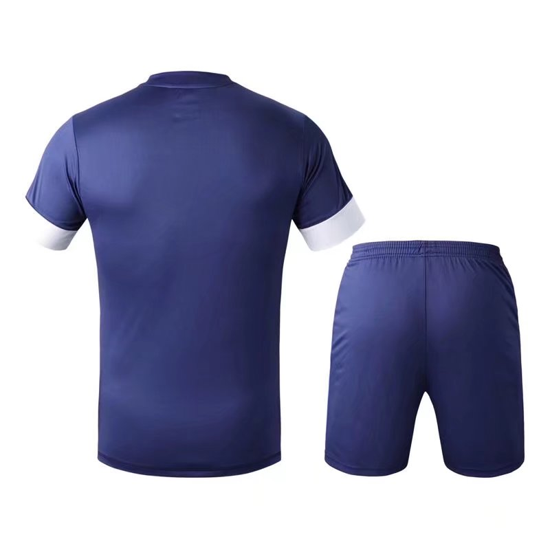 polo shirt Men 2016 quick dry Training Sports T-shirts Adult football team kits soccer sets Breathable Jersey orange