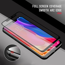 Full Cover Glass For Redmi 6 Pro Note 6Pro For Xiaomi Pocophone F1 Mi 8 SE A2 Lite Mi 6X 6 5C Mix 2 Max 3 Pro S2 4A 4X Screen(China)