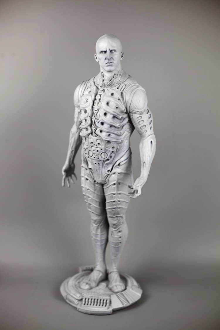 Collection artisanat 56cm Alien prométhée ingénieur espace extérieur chevalier résine modèle figurines d'action statue jouet cadeau décorations pour la maison