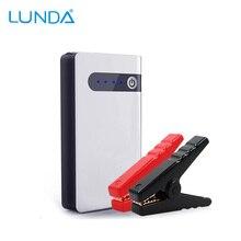 LUNDA Jump Starter 8000mAh 12V Car jump starter Portable Power Bank mini Emergency booster Car Battery Car Charger  To 2.0L Car