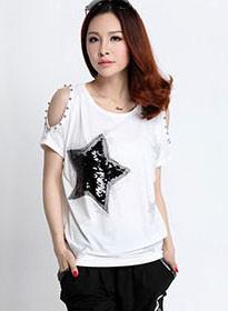 off-the-shoulder-tops-for-women-t-shirt-cotton-t-shirt-women-tee-shirt-femme-camisetas