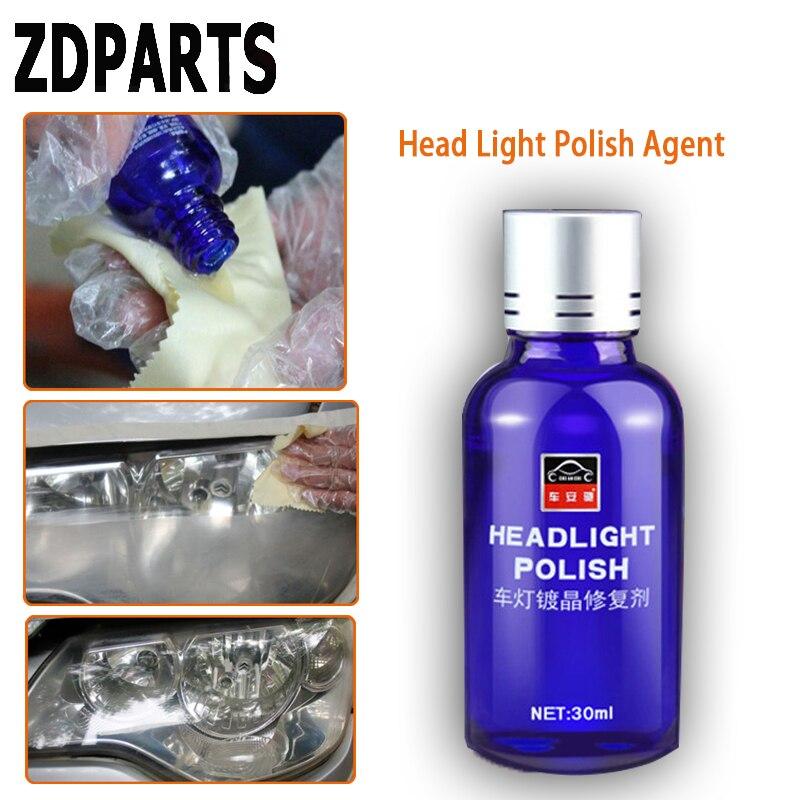 US $11 66 10% OFF ZDPARTS 1set Car Headlight Clean Polish Headlight Repair  Agent For Audi A3 A4 B7 B8 B6 A6 Nissan Qashqai Juke X trail T32-in Lamp
