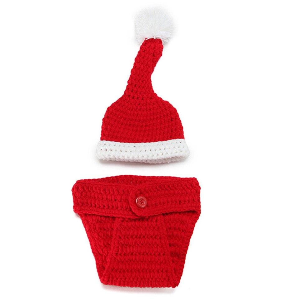 Bebé recién nacido Santa Claus foto infantil del bebé del pañal del ...