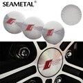 4Pcs Rs Car Steering Tire Wheel Center Car Sticker Hub Cap Emblem Badge Decals Symbol Decoration 57mm For Audi A3 A4 A5 A6 A7 A8