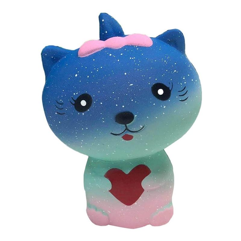 2018 Новый расстегивания Vent игрушки Pu медленный отскок детей взрослых рост для Звездное Cat медленно игрушки