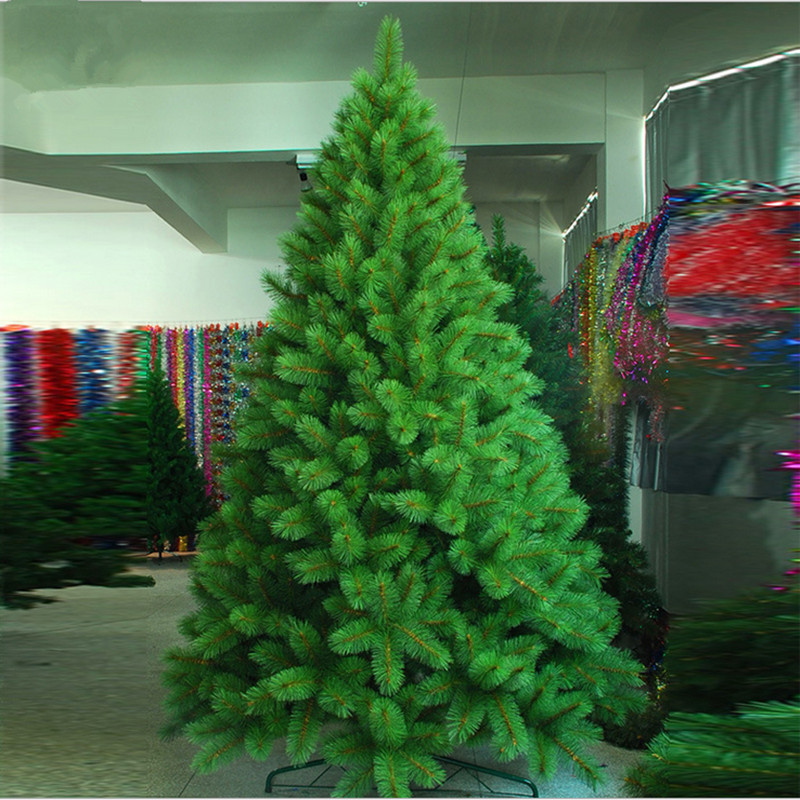 New Year Christmas 2.1M/2.4M Full Of Pine Needles Christmas Tree Decorated Christmas Environmentally Friendly Materials PET