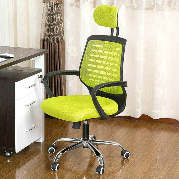 MSFE  household computer chair mesh office chair swivel lift chair computer chair home office chair mobile no handrail small lift swivel chair mesh staff chair