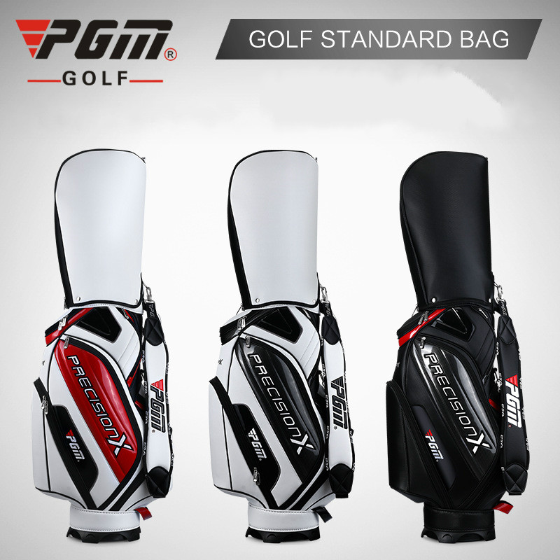 Pgm Golf estándar bolsa impermeable gran capacidad paquetes Multi-bolsillos Durable bolsa palos de Golf equipos con 3 colores