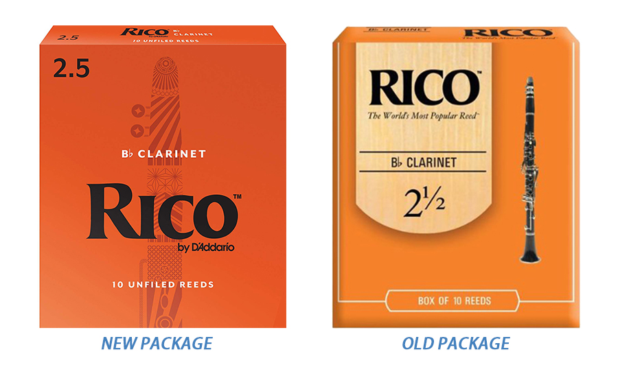 RICO Clarinet Reeds Strength Clarinet Reeds Bb 2.0 #, 2.5 #, 3.0 # - Instrumentos musicales - foto 3