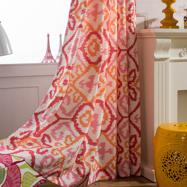 Slow_Soul] Dreamland Printed Curtains For Living Room Modern Curtain ...