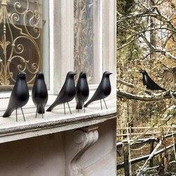 Home Decoration Wooden Crafts Bird Designer Home Furnishing Weeding Gift Desktop Accessories Dove