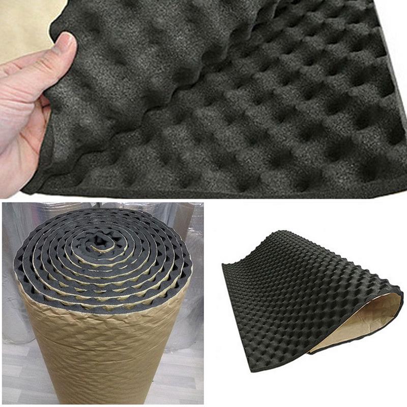 Foam Noise insulation Mat Black Deadener Sound Pad Carpet Dampening 50*50*2cm High quality