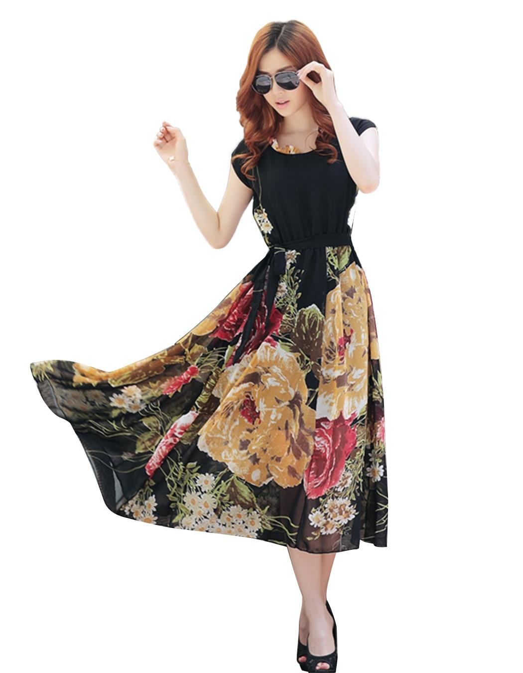 Women Dress Summer Party Dress Vestidos Ladies Elegant