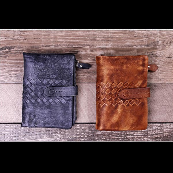 Handmade works of art wallet Brush color weaving screens wallet Men and women general zipper bag a three dimensional embroidery of flowers trees and fruits chinese embroidery handmade art design book