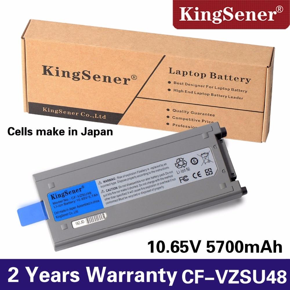 KingSener Celulă japoneză nouă CF-VZSU48 baterie pentru Panasonic CF-VZSU48 CF-VZSU48U CF-VZSU28 CF-VZSU50 CF-19 CF19 Toughbook