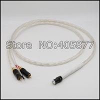 Бесплатная доставка 1.5 м Nordost Odin Тонармы кабель 5 Булавки din и RCA Phono Поворотные столы аналоговый кабель
