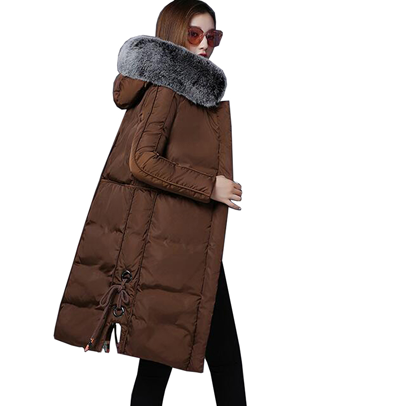 Winter Jacket Women Nice Autumn Wear High Quality Parkas Winter Jackets Outwear Women Long Coats Hooded Fur Collar Cotton Coat polaris phd 1038t