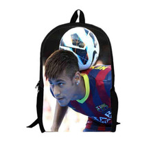 16Inch Neymar Backpack Customized Mochila Masculina Messi Star Travel Bag Mochila Escolar Teenage Free Shipping A046