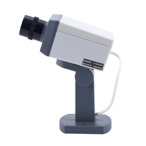 Image 2 - Dummy אבטחת LED מסתובב מצלמה תנועה הופעל אור סוללה כוח בית מזויף