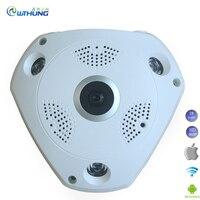 WIFI IP Camera Fisheye Lens 1 3MP 960P 3D VR Cam SD Card Slot HD 360