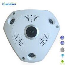 Wifi IP Cam 1.3MP 960P/3MP 3D VR 360 degrees Fisheye Panoramic web camera IR Night Vision for CCTV Surveillance Security Camera