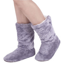 2017 Super Warm Home Soft Plus Shoes Coral Fleece Indoor Floor Socks Winter Soft Floor Slipper Unicornio Home Shoes fit Most
