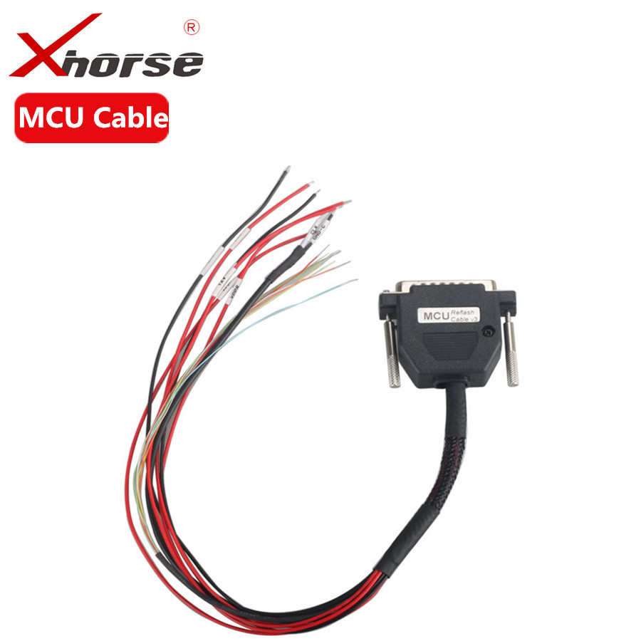 XHORSE VVDI PROG Programmer MCU Reflash Cable Read Write MCUs Chips цена