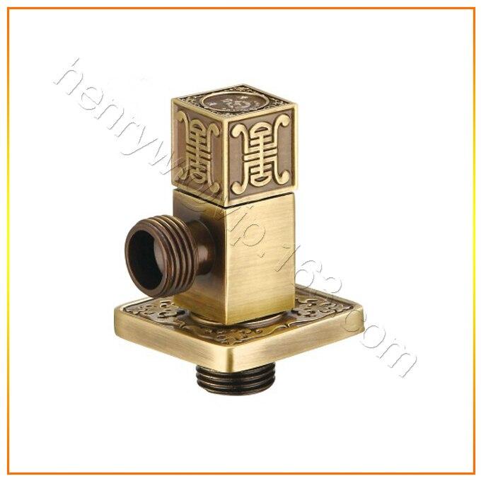 """L15590-Роскошные Настенные бронза Цвет M1/""""-M1/2"""" латунный угловой вентиль"""