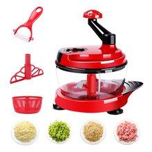 Multifunctional Food Processor Kitchen Gadget Vegetables Chopper Cutter Mixer Salad Maker Eggs Stirrer Kitchen Cooking Tool