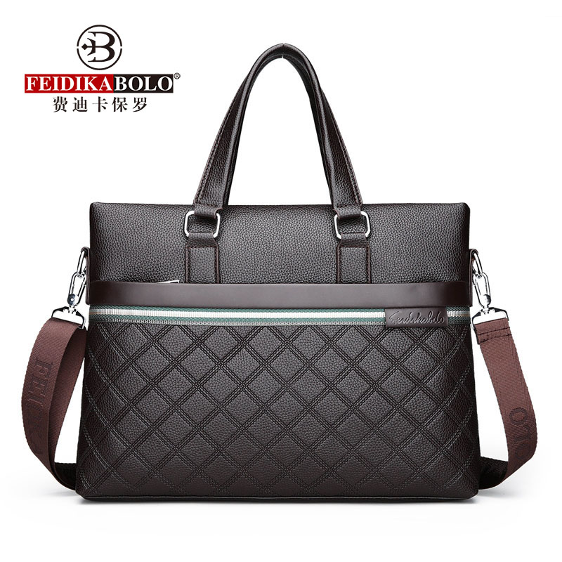 Classic Plaid Design Business Man Bag Vintage Brand Men s Messenger Bag Casual Business Male Shoulder Innrech Market.com