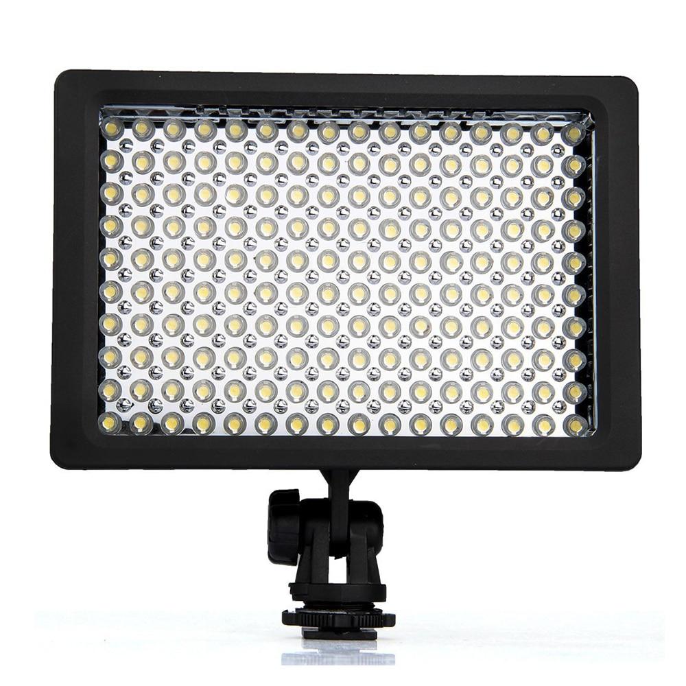LD-160 9.6W Photography Lighting LED Video Light Photo Studio Camera Light Illuminator 5400 / 3200K Dimmable for Canon Camera стоимость