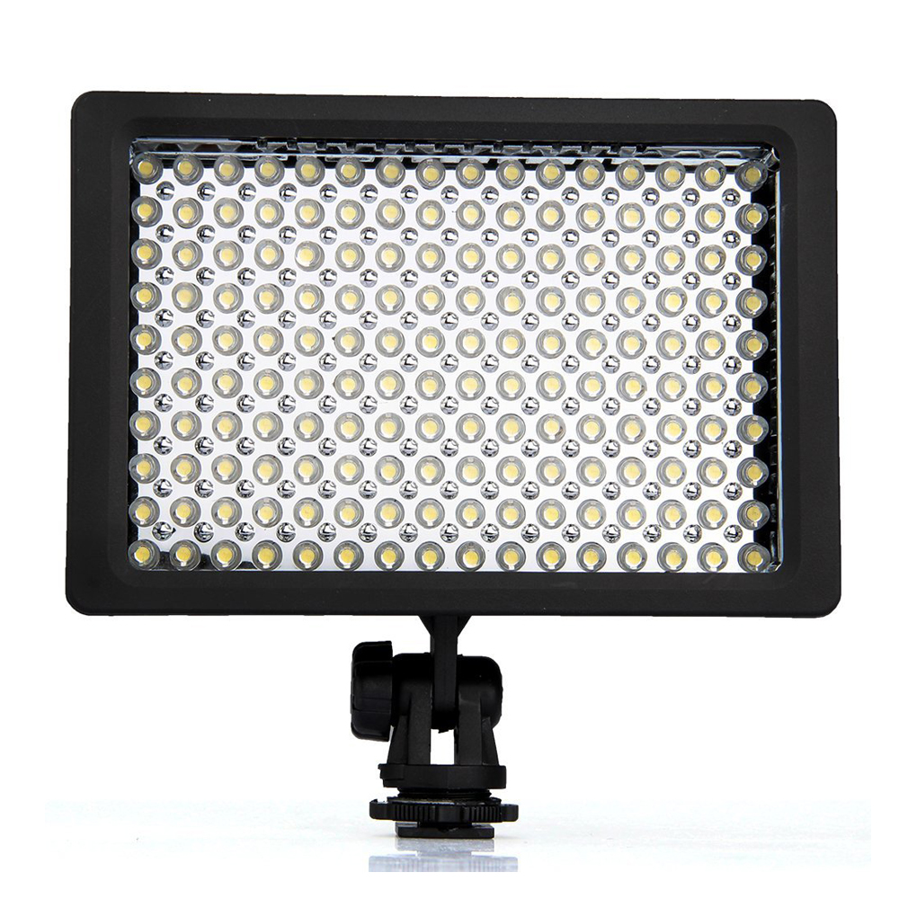 Lightdow LD-160 9.6W Recessed LED Illuminator 160 5400 / 3200K Dimmable for Canon Camera