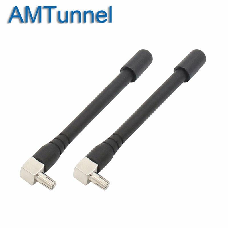 Antena wi-fi 3G pçs/lote 2 CRC9 TS9 4G antena Antena do Roteador Sem Fio para Huawei E5573 E8372 E3372 PCI Card USB Roteador Sem Fio