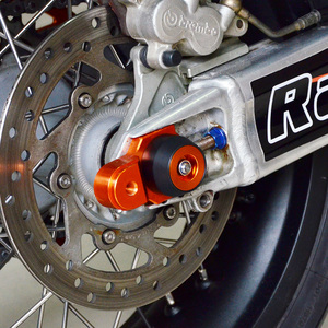 Image 4 - קדמי אחורי סרן מחוון גלגל מזלג התרסקות מגן עבור KTM 1290 סופר הרפתקאות S R 2017 2018 2019 1190 1050 הרפתקאות 2015 2016