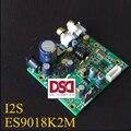 Novo Áudio Brisa ES9018K2M ES9018 I2S Decodificação Placa de Entrada do Moinho placa DAC Suporta IIS-32bit 384 K/DSD64 128 256 Livre grátis