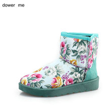 dower me 2017 winter fashion ladies wear snow boots warm shoes home shoes female boots women's shoes sizes 36-40
