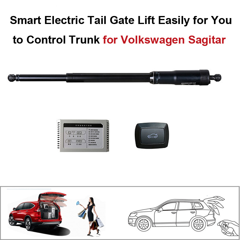 Smart Auto Electric Tail Gate Lift For Volkswagen VW Sagitar Control By Remote Drive Seat Tail Gate Button Set Height Avoid Pinc