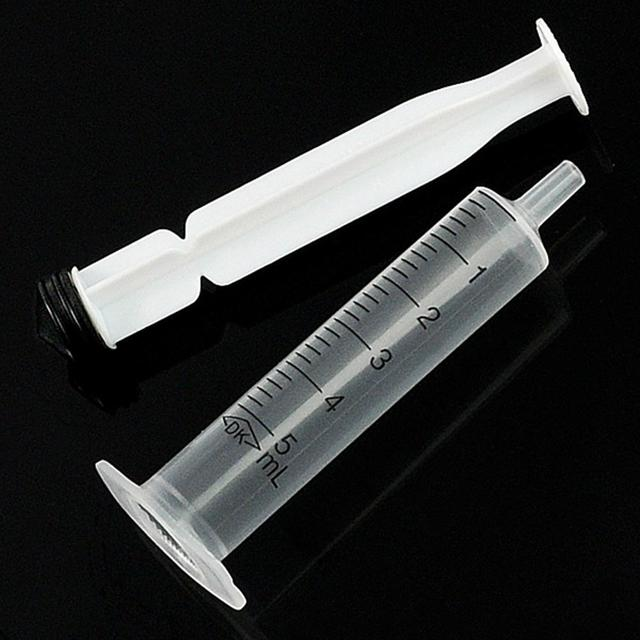 5pcs 5 mL Slim Nutrient Syringe