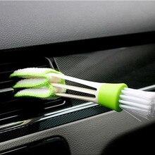 Стайлинга автомобилей Кондиционер Vent кисточка для чистки зазоров наклейка «кисть» для Toyota Aurion Avalon 4 Avensis 3 Camry 8 7 6 XV70 XV50 XV40 T23