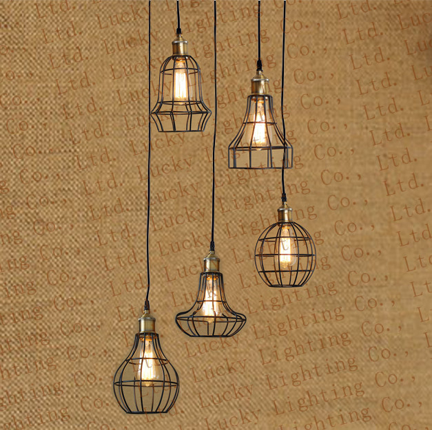 Small Vintage Bar Lights: American Industrial Chandeliers Industrial Small Pendant