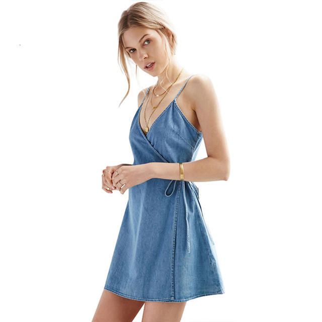 450726725ed4c US $26.32 |MY MAYAASOS Spaghetti Strap Sleeveless Dress Sexy Lace Up Mini  Dress Women Clothing Summer Casual Vintage Female Vestidos-in Dresses from  ...