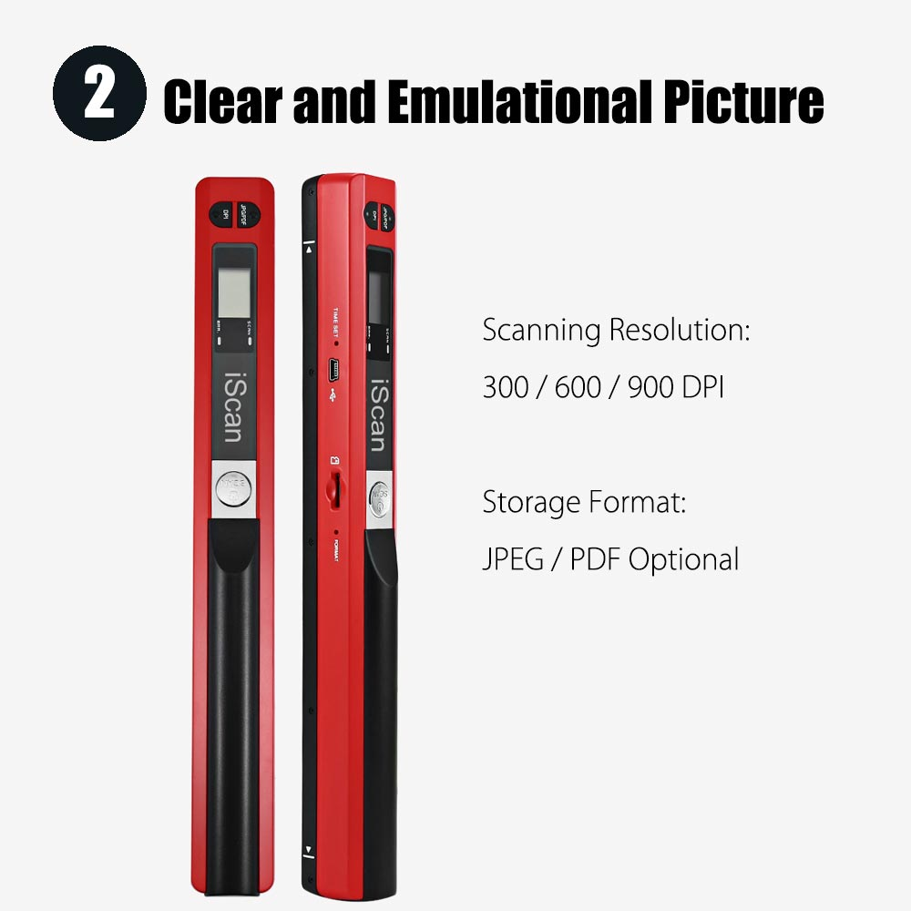 iScan Mini Portable Scanner 9