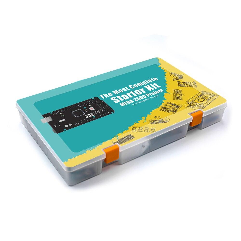Image 4 - Mega 2560 Project EL KIT 008 Arduino el Kit de inicio más completo con TUTORIAL para Arduino Kit de unoAccesorios de tablero de demostración   -