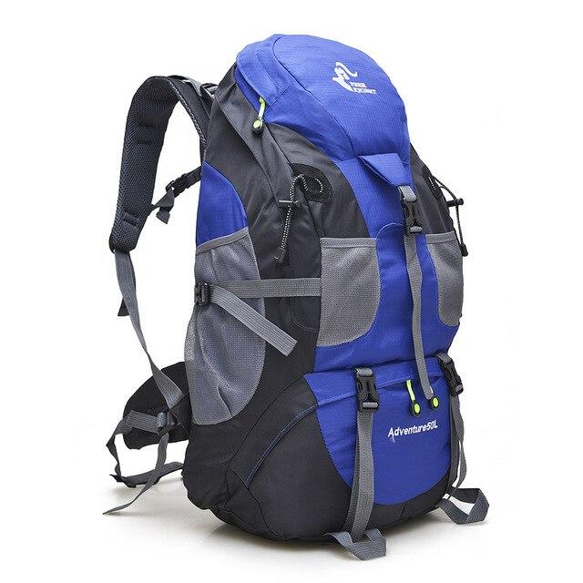 1accaa95f Free Knight Camping Hiking Backpack 50L Waterproof Mountaineering Travel  Tourist Backpacks Mochila Climbing Trekking Sport Bags