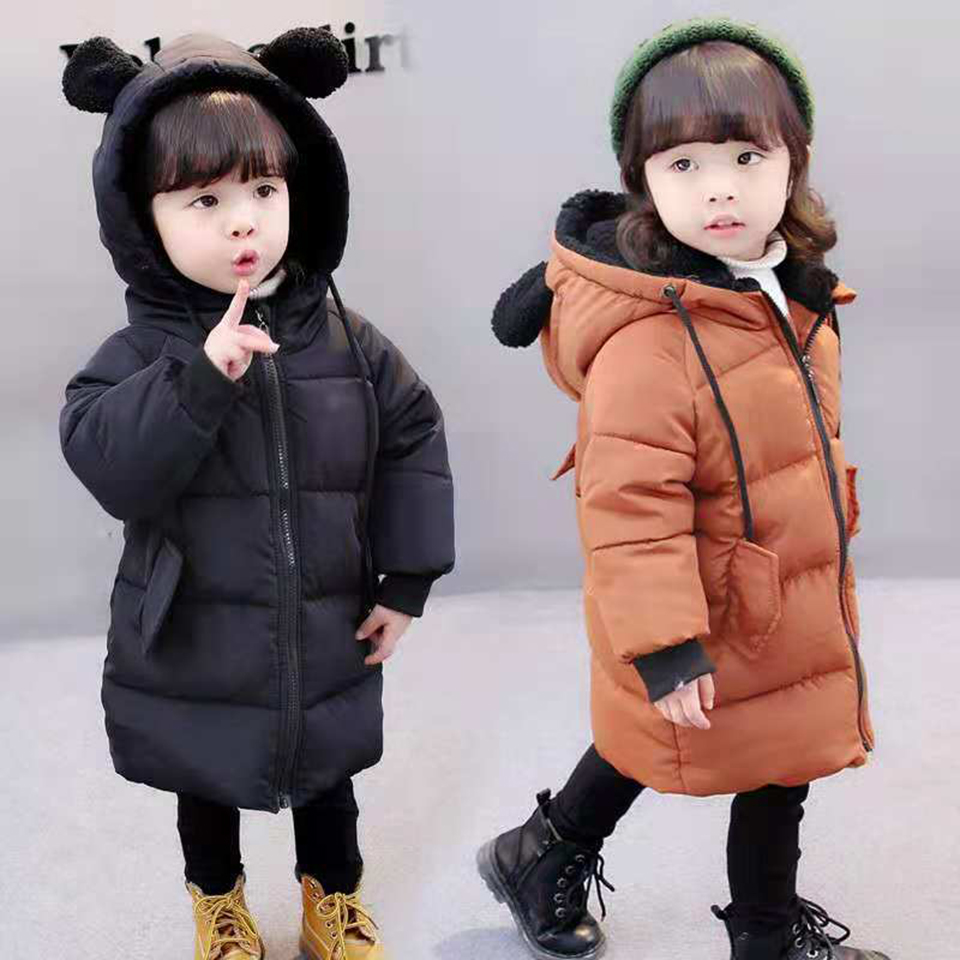 Age 18M 2T 3T 4 6 8 Years New Baby Girls Coats Winter Down Jackets Coats Casual Snow Wear Girls Boy Clothing Outerwear & Coats coats kenzo page 8 href