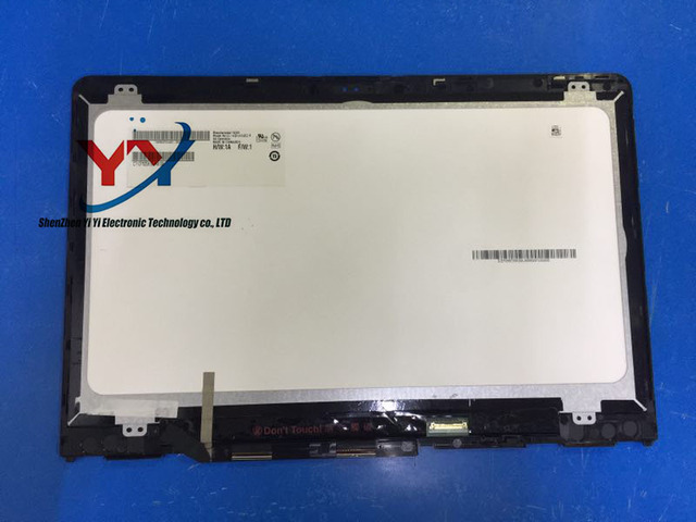 US $110 0  14 inch lcd display replacement For HP Pavilion X360 14M BA 14  BA series led lcd screen with touch digitizer+bezel 1920*1080-in Laptop LCD