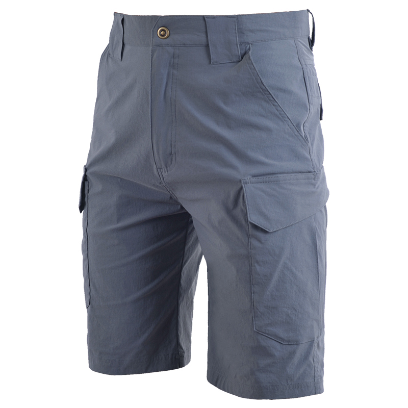 2020 New Summer Mens Tactical Cargo Casual Shorts Solid Color Male Silm Work Shorts Man Army Military Short Pants Workman Pocket